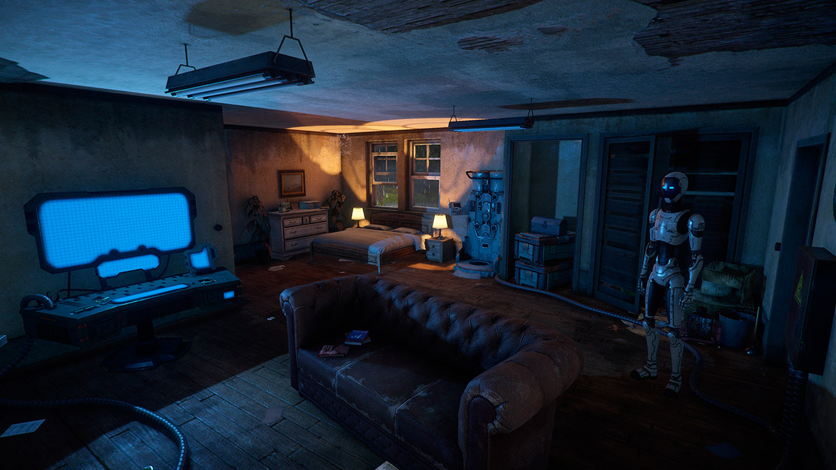 Post-Apocalyptic Robot Adventure Game, The Uncertain, Hits Nvidia