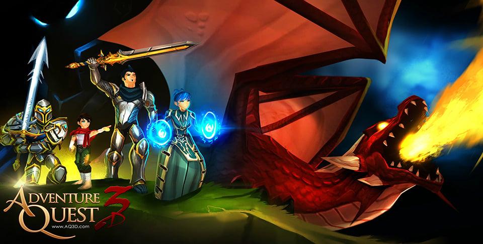 Cross-platform MMORPG AdventureQuest 3D arrives in open beta