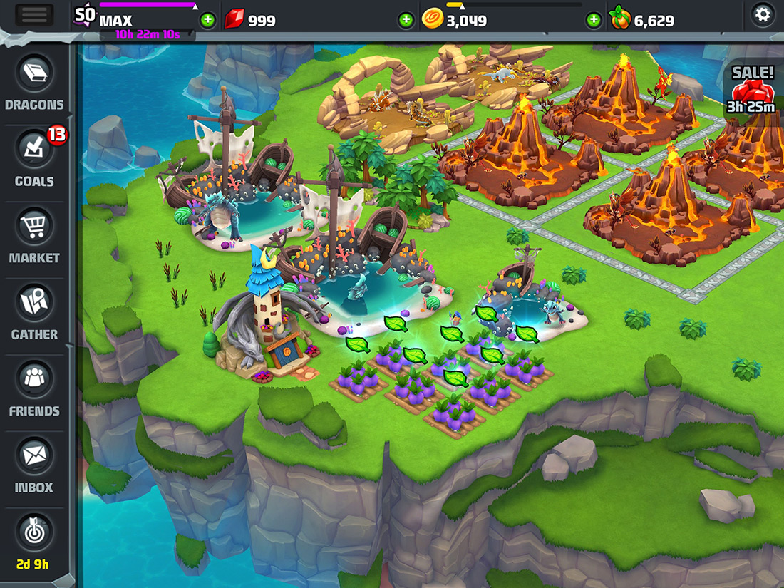 Backflip Studios releases a new version of DragonVale today