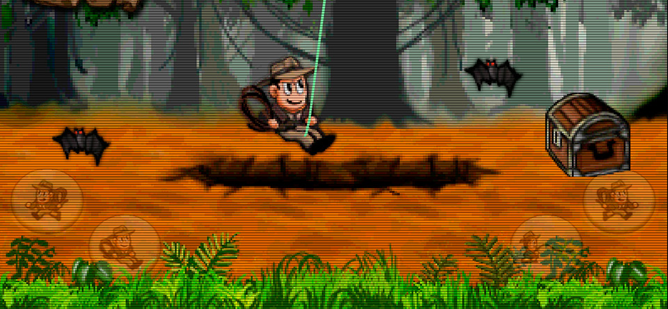 Retro-Pitfall-Challenge-Android-Game