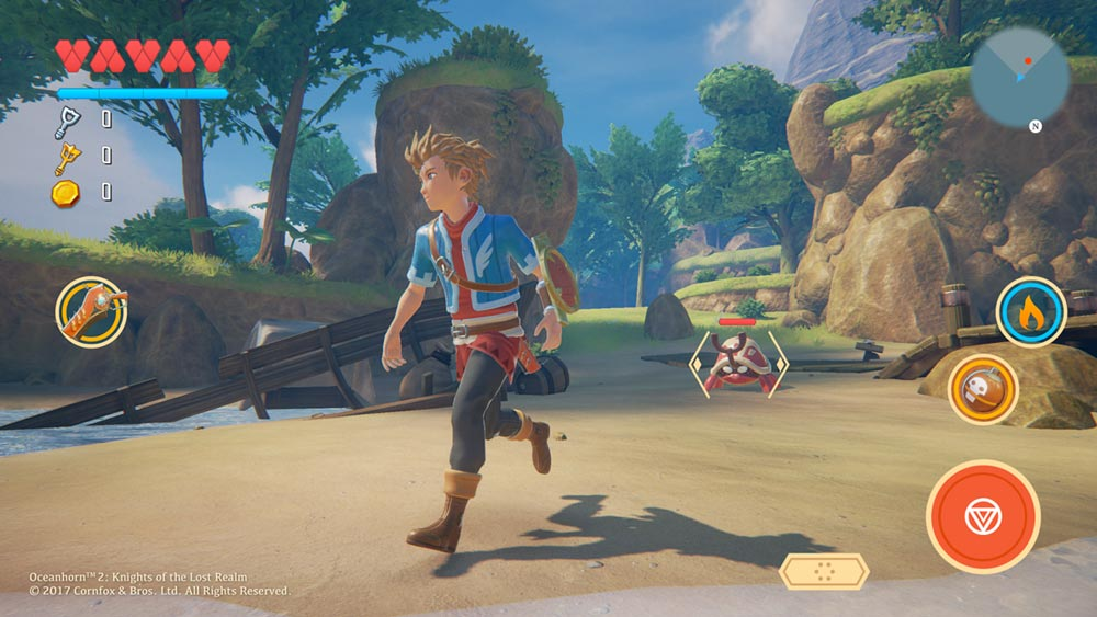 Oceanhorn 2: Knights of the Lost Realm Could Find Itself on