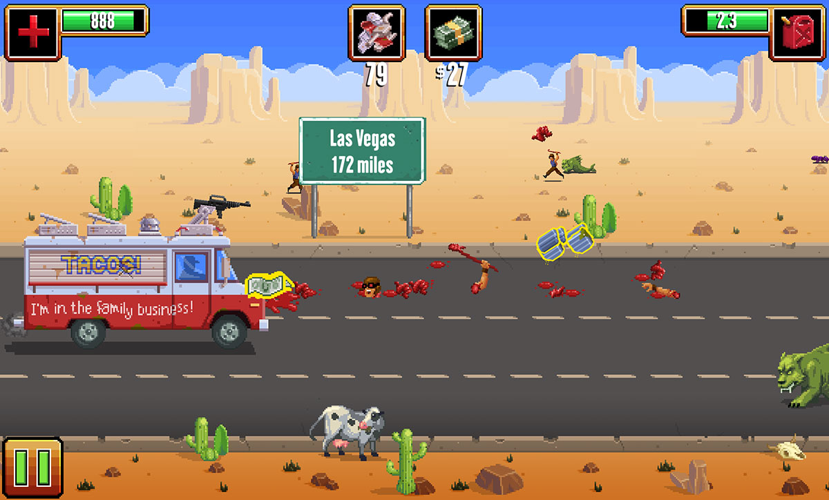 Apocalyptic Food Truck Game