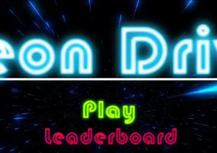 Neon-Drive-Android-Game