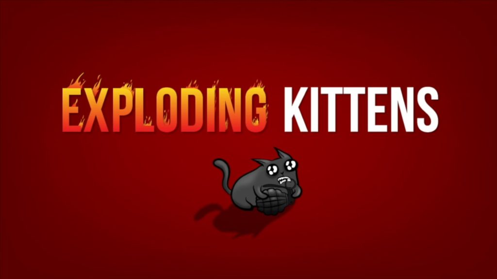 Exploding Kittens is on sale on Google Play.