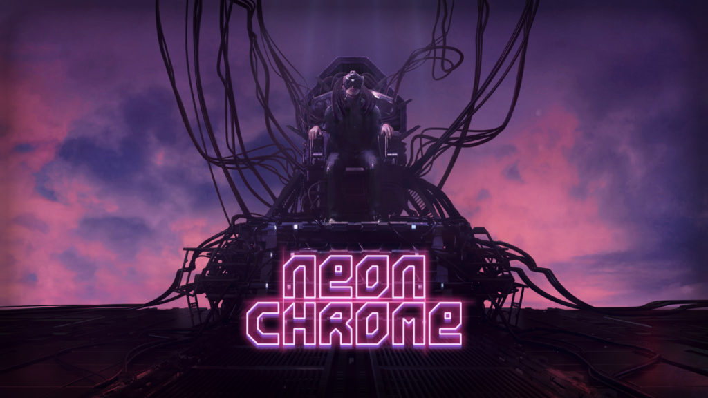 Neon Chrome is a twin stick shooter out now on Google Play.