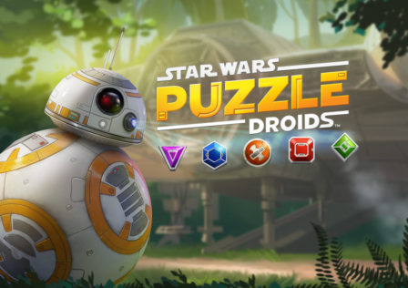 Star Wars: Puzzle Droids is a match three puzzler with a Star Wars skin.
