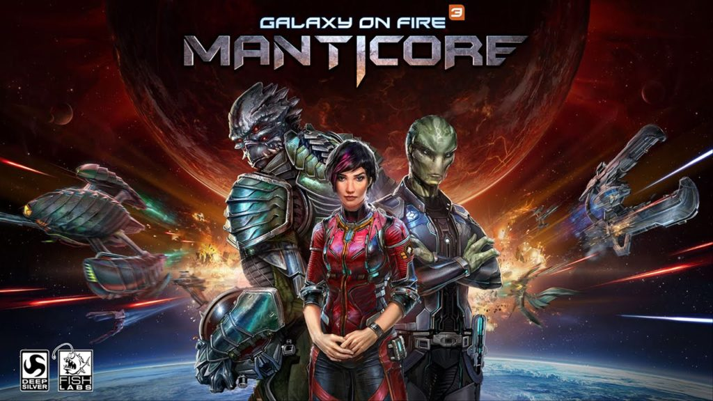Galaxy on Fire 3: Manticore Android