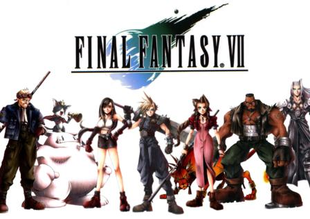 Final Fantasy VII JRPG