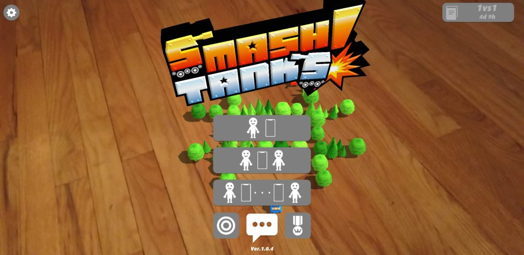 AR Smash Tanks! Android