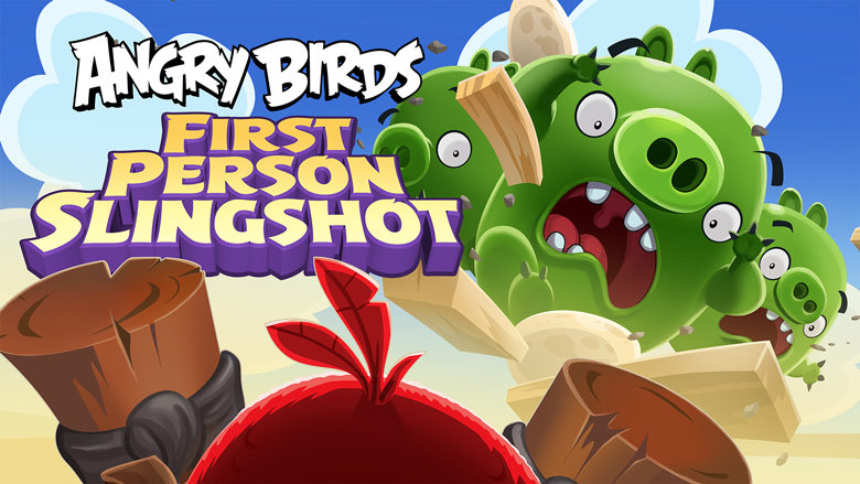 Angry Birds: First Person Slingshot Android