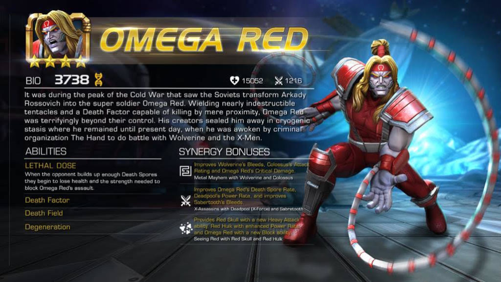 Omega Red Android