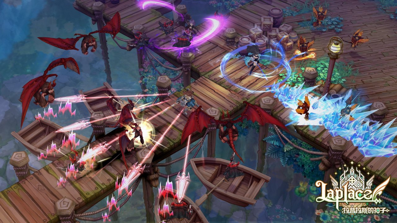 Laplace M is a mobile MMORPG based on the PC original