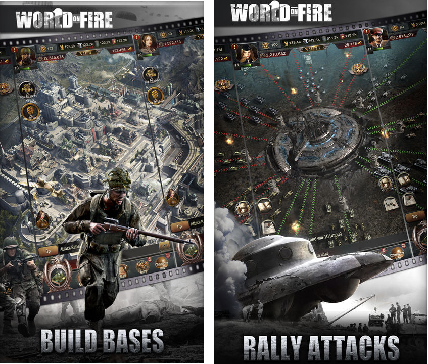 World on Fire is Clash of Clans for those that live in the