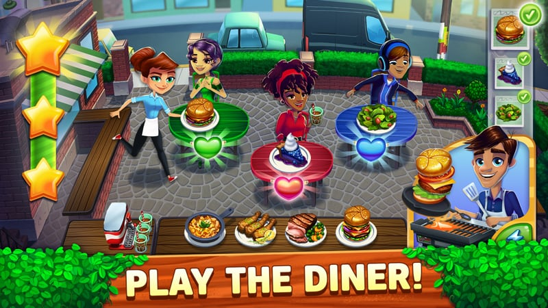 Diner Dash Adventures Android