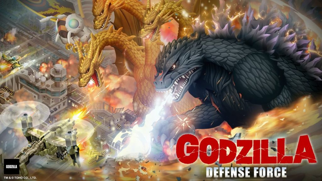Godzilla Defense Force Android