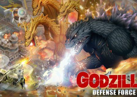 Godzilla Defense Force Android