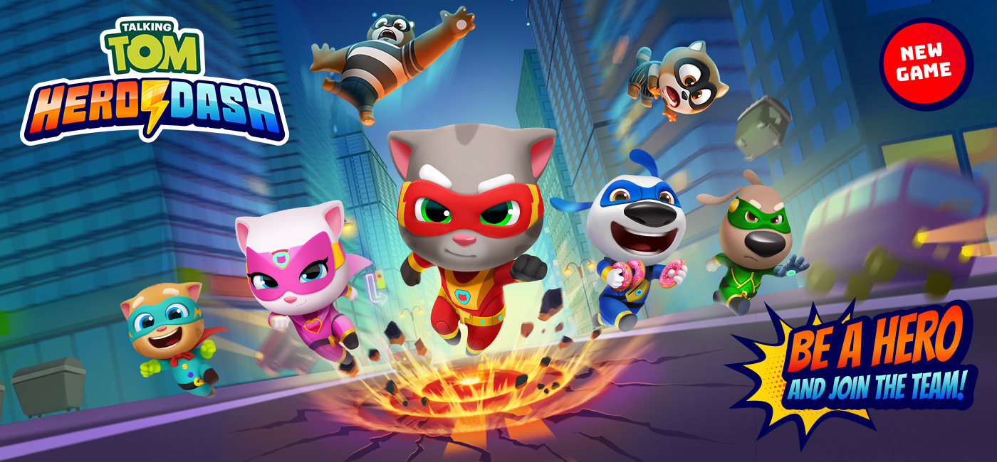 Talking Tom Hero Dash Android