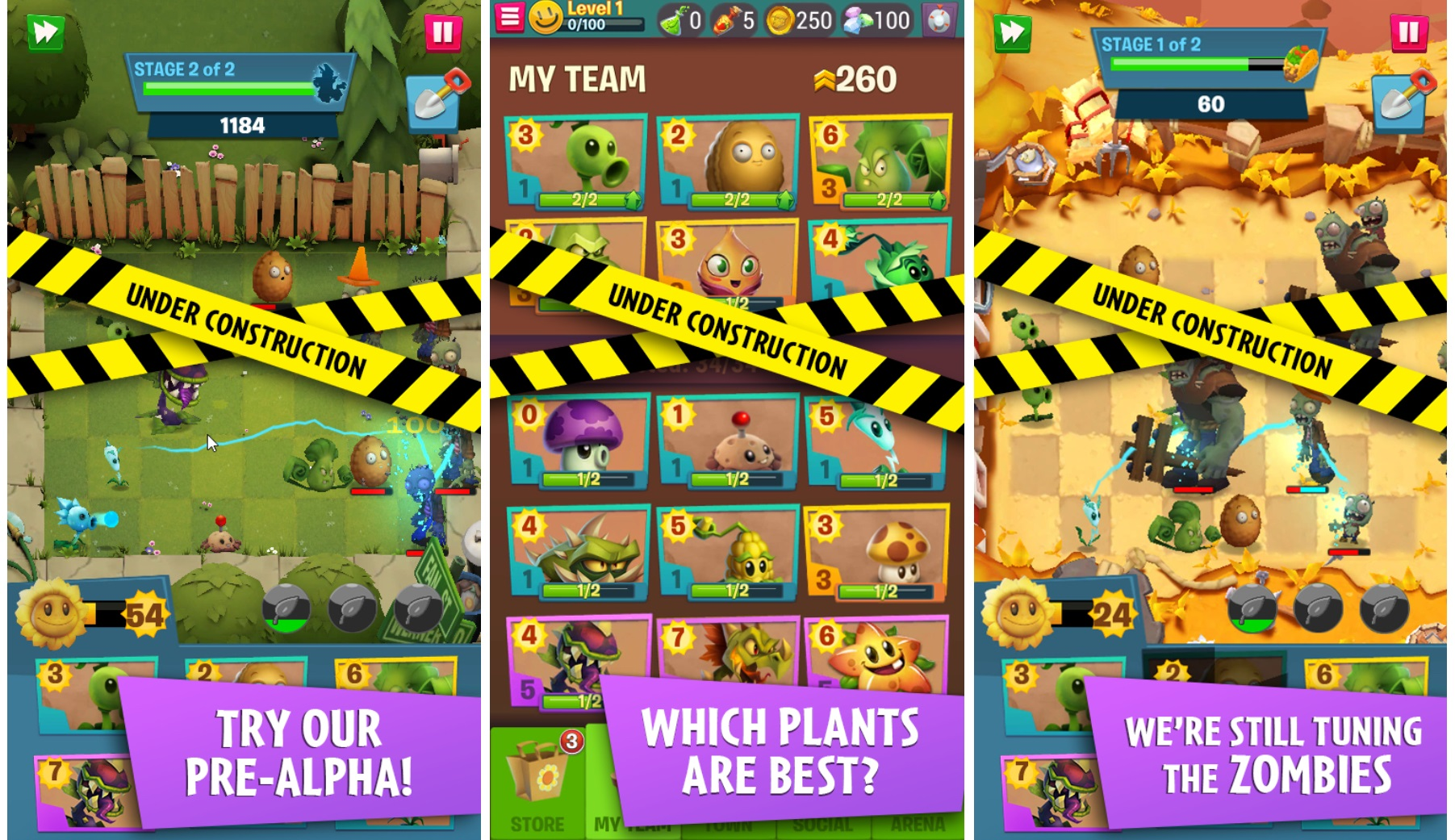 Plants Vs. Zombies 3 is in Pre-Alpha