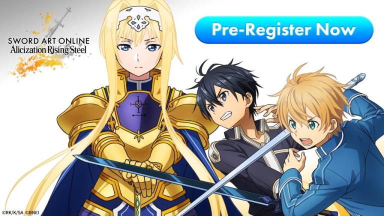 Sword Art Online: Alicization Rising Steel is an Upcoming