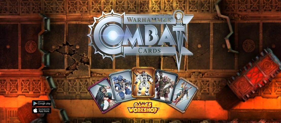 Warhammer combat cards NEW