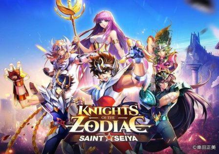 saint seiya knights of the zodiac logo