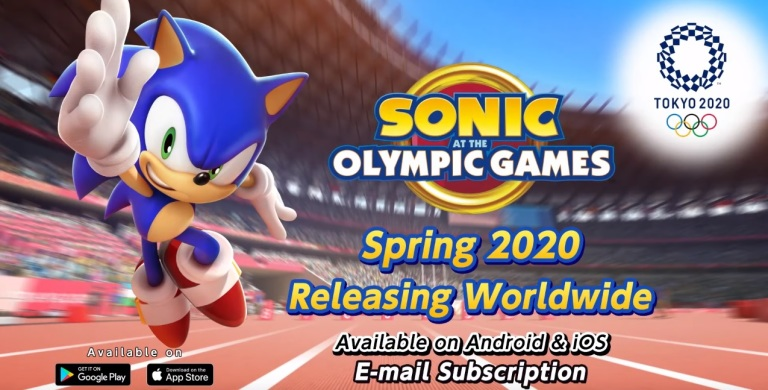 Android Games 2020.Sonic At The Olympic Games Tokyo 2020 Coming To Android