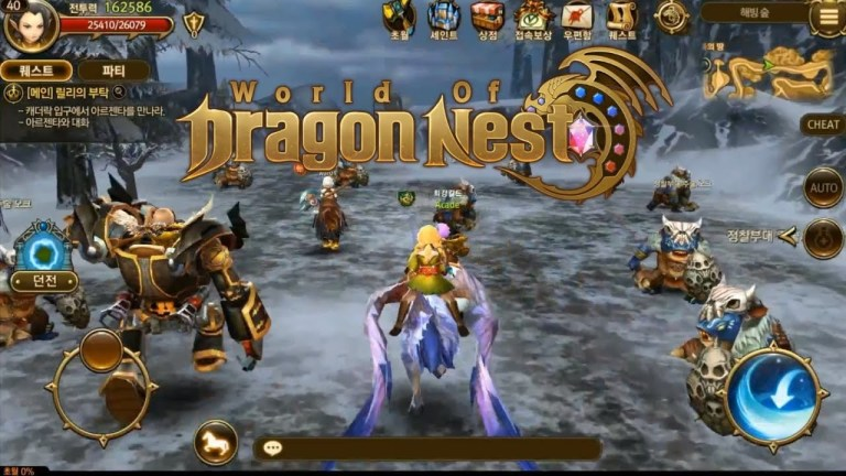 World Of Dragon Nest Has Launched In Certain Territories On Android Droid Gamers