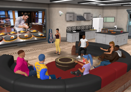 Big Brother The Game Screenshot_TV Room
