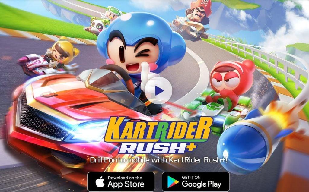 Slick Mario Kart Tour Rival Kartrider Rush Attracted 10 Million