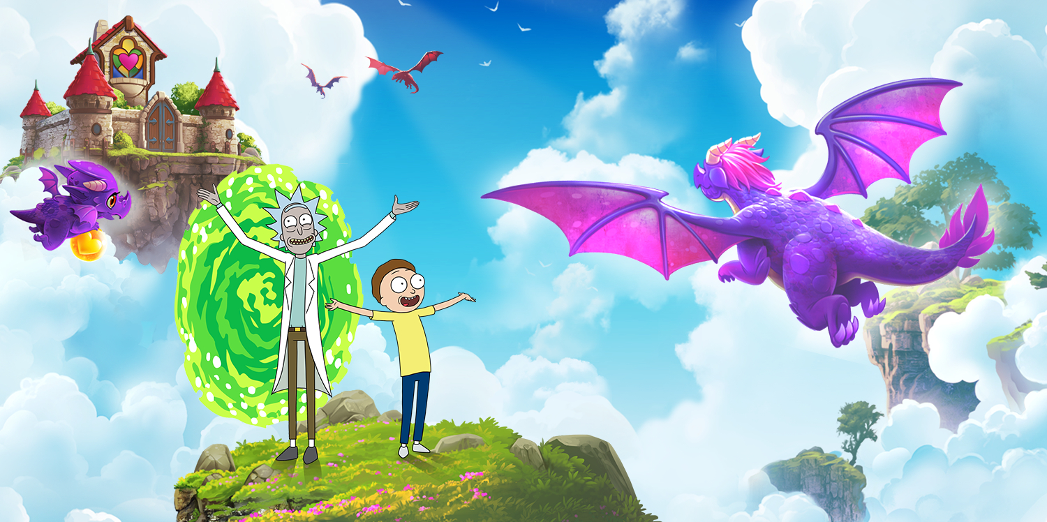 The Final Rick and Morty x Merge Dragons! Event is Happening This Weekend