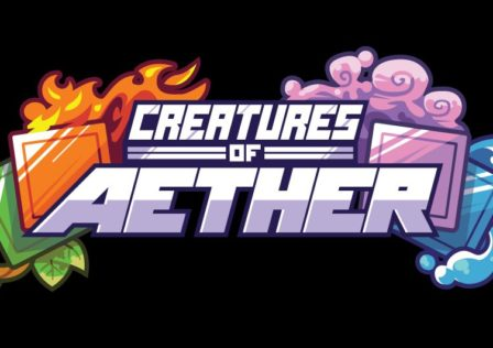 Creatures of Aether Vector Logo