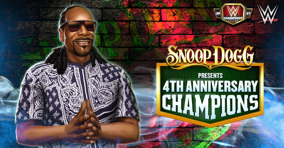 Snoop Dogg Comes to WWE Champions 2021 as a Playable Character on Android