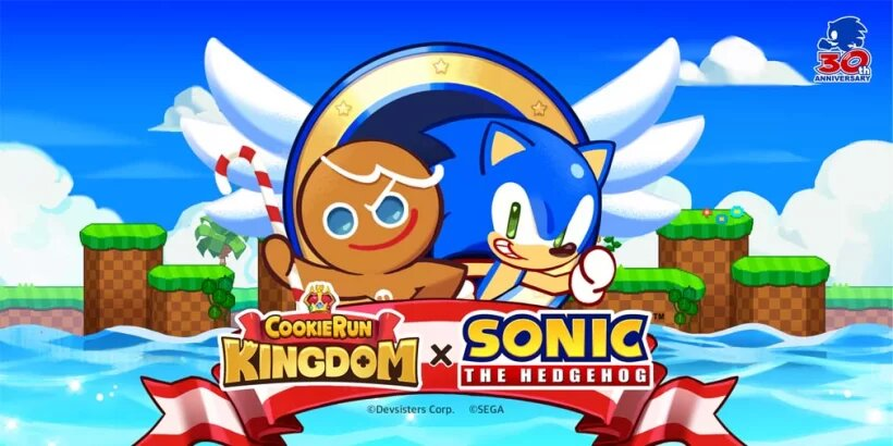 Sonic and Tails Coming to Cookie Run: Kingdom Tomorrow