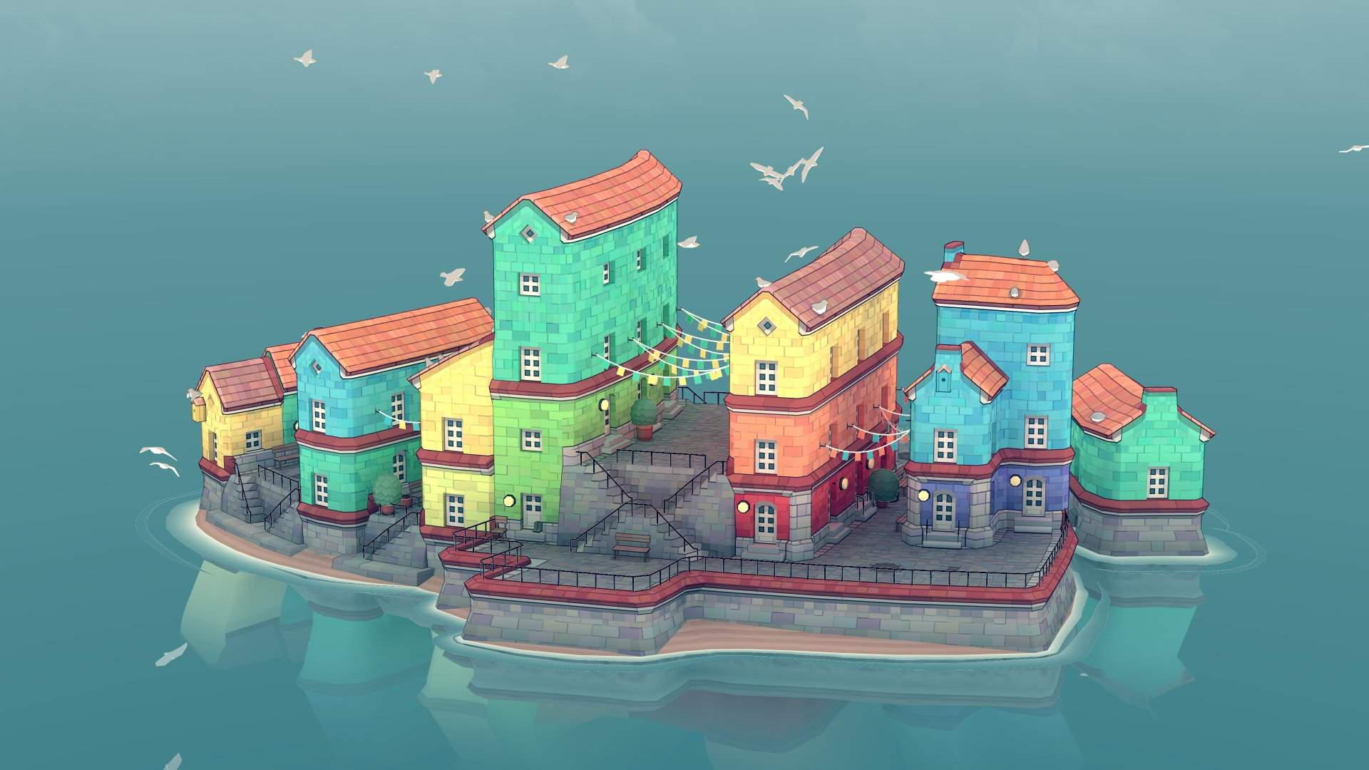 Organic City Builder Townscaper Launching on Android Next Month - Droid  Gamers